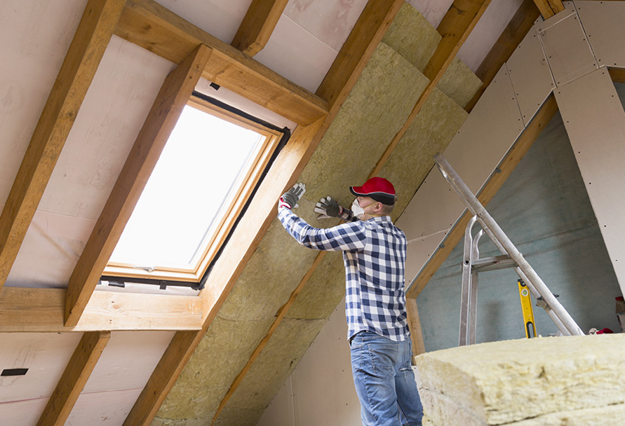 Insulation and weatherization