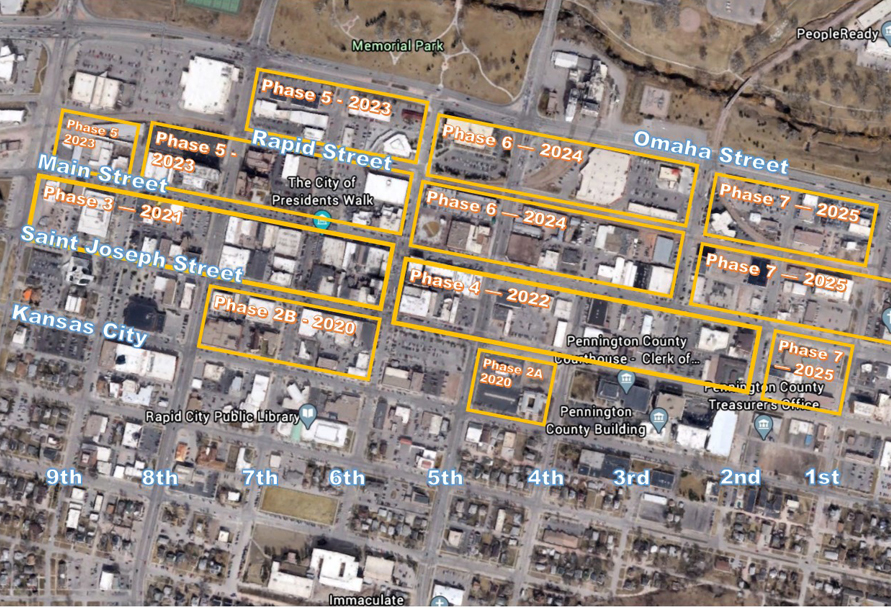 Black Hills Energy to rebuild portions of Rapid City downtown distribution system | South Dakota